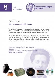 Enric Granados. Granados i les noves tecnologies...